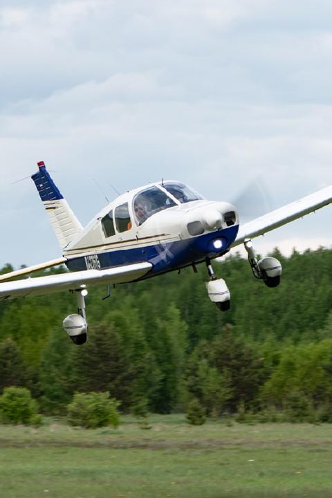 Полет на Piper RA-28