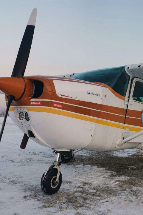 Полет Cessna C-172