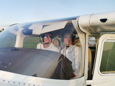 Полёт на самолёте Новосибирск