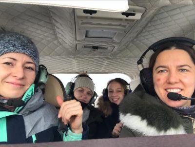 Полет на самолете в НСК