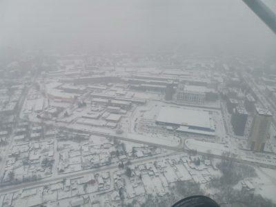 Полет на самолете в Новосибирске